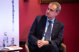 El expresidente del Gobierno José Luis Rodríguez Zapatero - David Zorrakino - Autor: Europa Press - Archivo