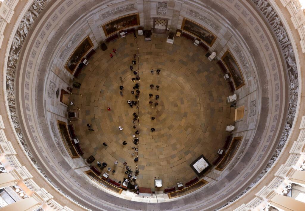 El interior del Capitolio de Estados Unidos