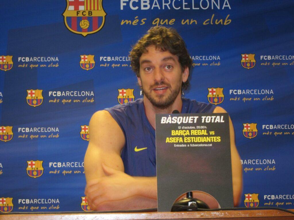 Pau Gasol En Rueda De Prensa En Barcelona - EUROPA PRESS