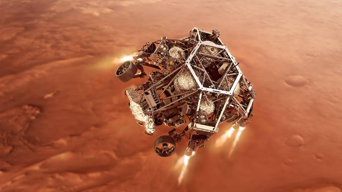 El aterrizaje del rover Mars Perseverance se podrá seguir en español a través de la NASA y otros medios. / NASA/JPL-Caltech