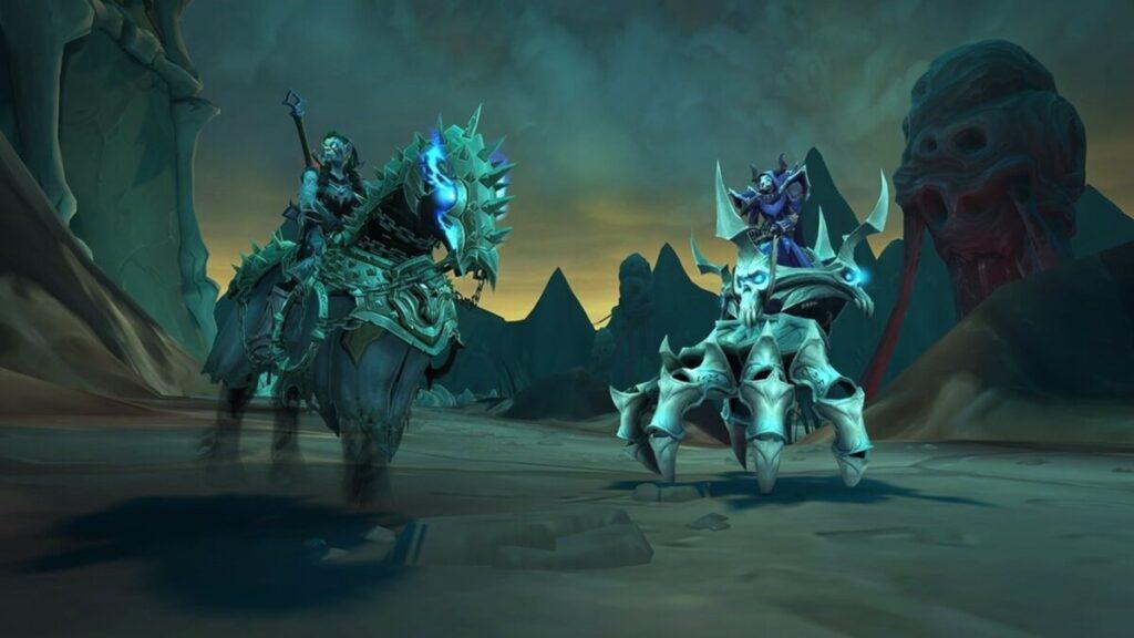 World of Warcraft Shadwlands: Cadenas de dominación
