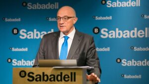 El presidente de Banco Sabadell, Josep Oliu