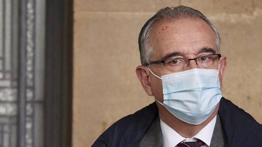 El alcalde de Pamplona, Enrique Maya, en una imagen de archivo.