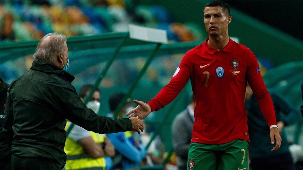 Cristiano Ronaldo jugando con PortugalCristiano Ronaldo jugando con Portugal