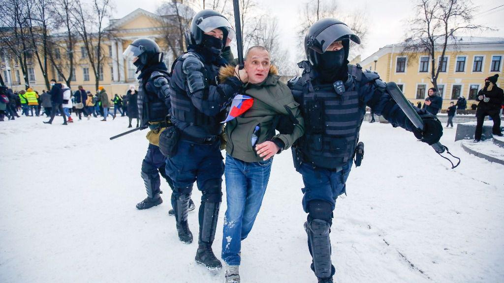 Detención en Rusia