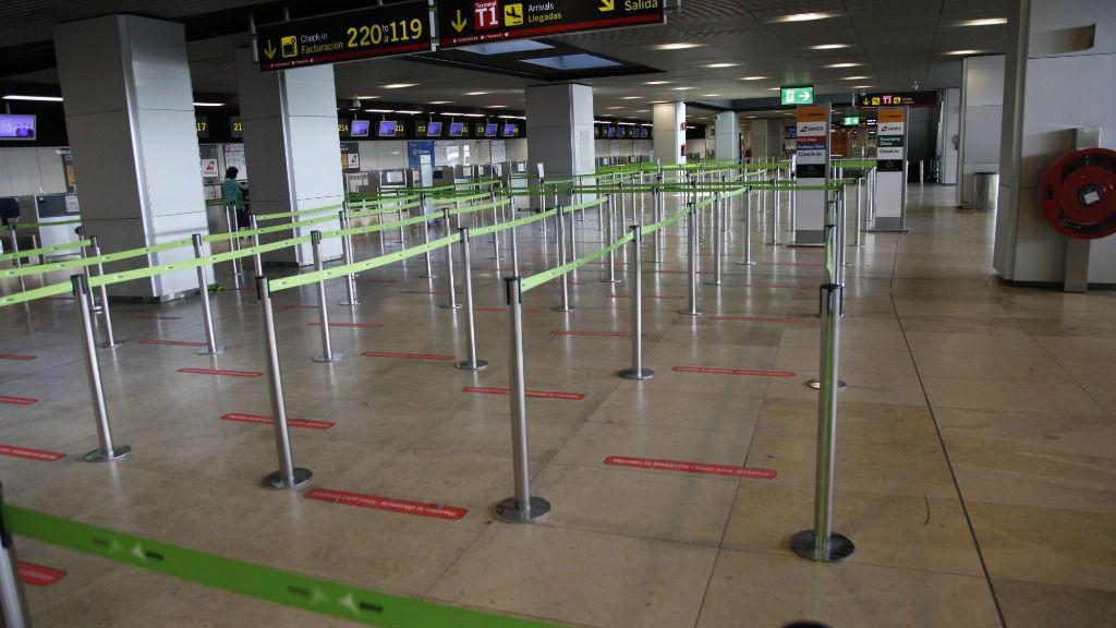 areopuerto barajas covid19 coronavirus aerolineas viajar turismo