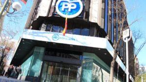 Sede del PP Partido Popular Genova