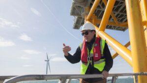 Ignacio Galan en West od Duddon Sands