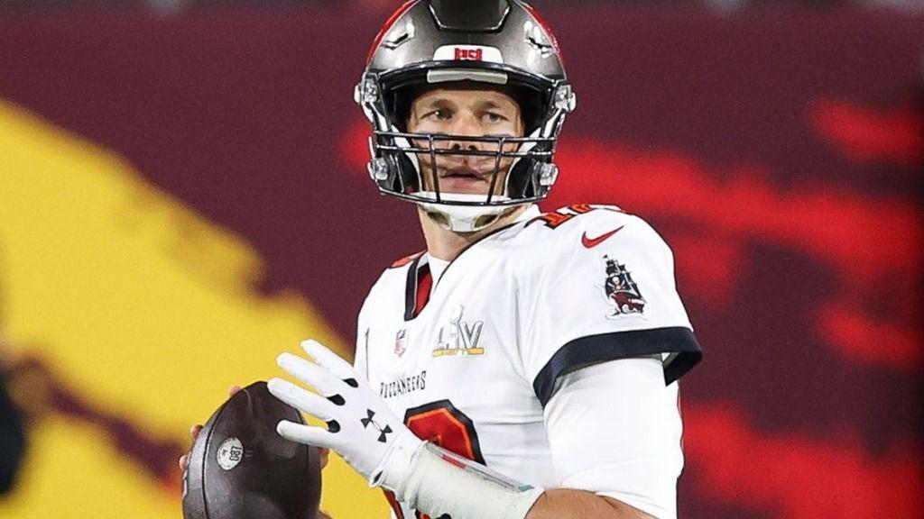 Tom Brady, quarterback de los Tampa Bay Buccaneers