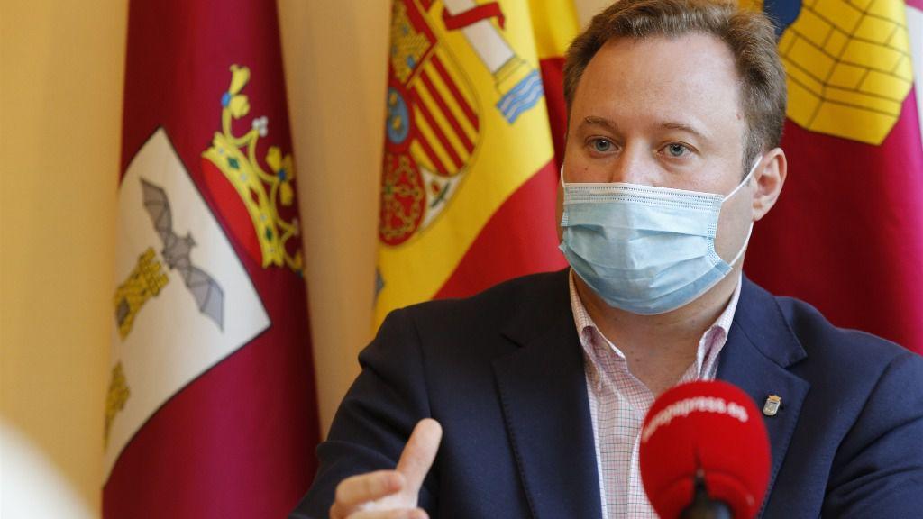 El alcalde de Albacete, Vicente Casañ