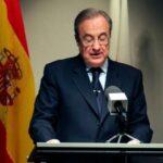 """Florentino Pérez: """"Los clubs importantes de Inglaterra, Italia y España deben dar solución a una situación mala"""""""