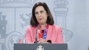 La ministra de Defensa, Margarita Robles