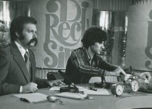 Archivo - José María Íñigo en el programa Directisimo de RTVE - RTVE - Archivo