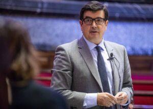 El portavoz de Ciudadanos (Cs) en el Ayuntamiento de València, Fernando Giner