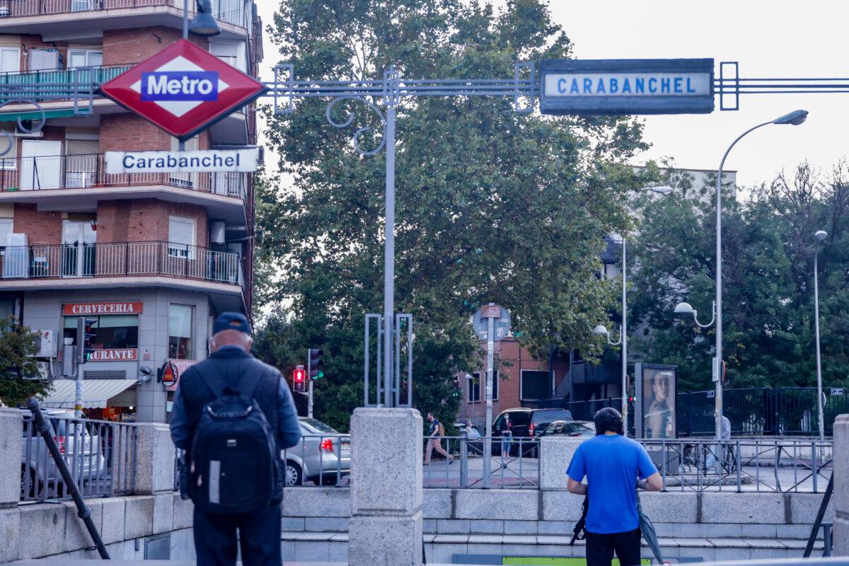 Archivo - Metro de de Carabanchel, Madrid (España), a 18 de septiembre de 2020. - Ricardo Rubio - Europa Press