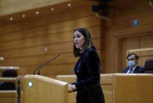 La Senadora de Ciudadanos (Cs) Ruth Goñi