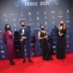 El equipo de 'Las niñas', película triunfadora de los Feroz