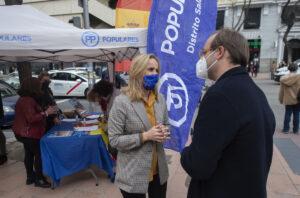 La secretaria general del PP de Madrid, Ana Camins
