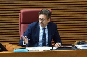 El portavoz de Sanidad del Grupo Parlamentario Popular, José Juan Zaplana - PP