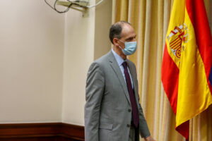 El inspector de la Policía Manuel Morocho