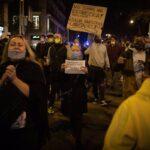 Manifestación de hosteleros y ocio nocturno