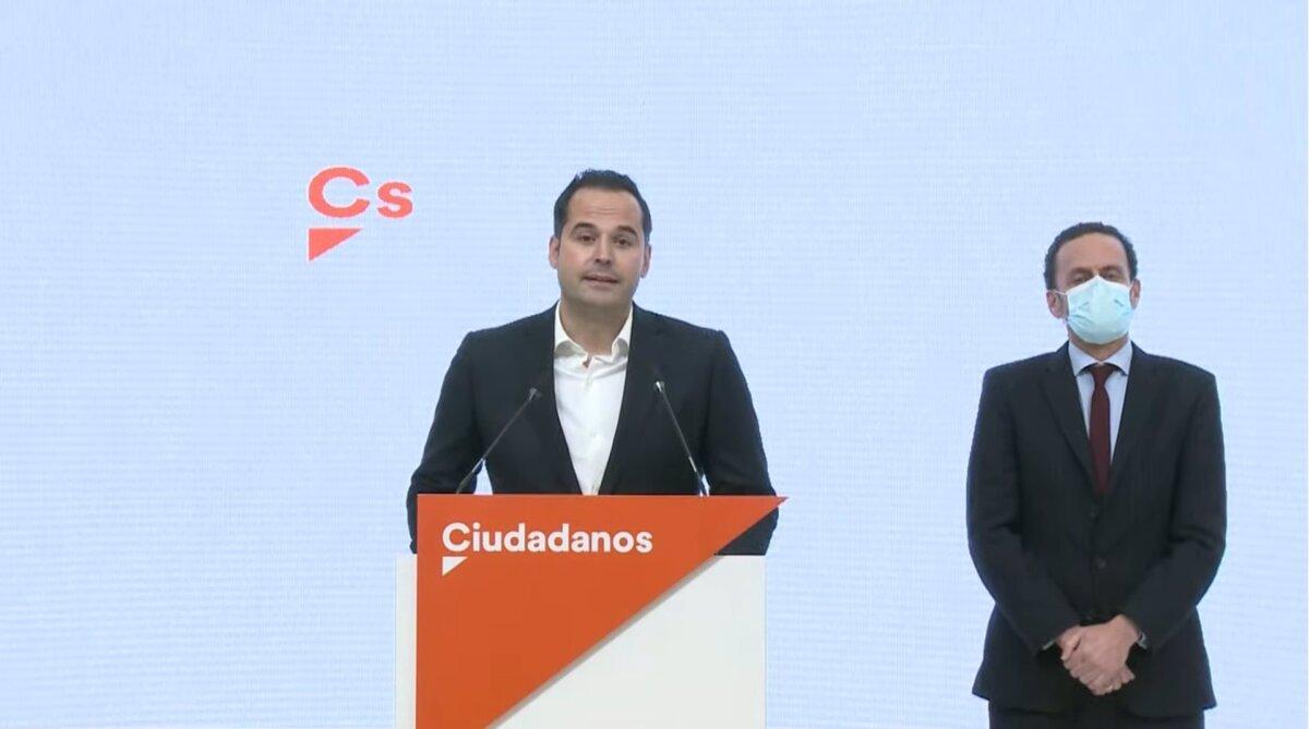 Ignacio Aguado junto a Edmundo Bal