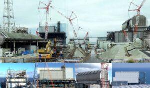 Imágenes recientes de la central de Fukushima Daiichi (Japón) y estado de las unidades 1, 2, 3 y 4. / TEPCO