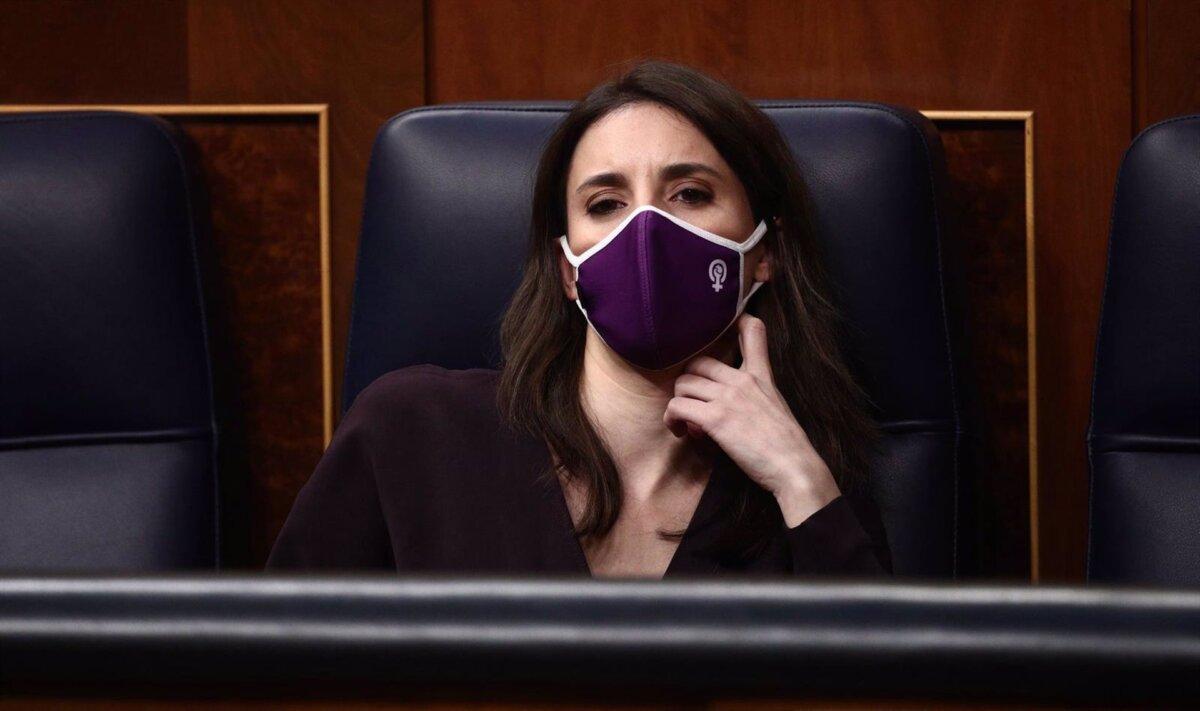 La ministra de Igualdad