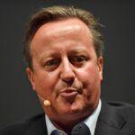 El ex primer ministro británico David Cameron - Jacob King/PA Wire/dpa