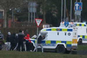 Disturbios en Irlanda del Norte. - Liam Mcburney/PA Wire/dpa