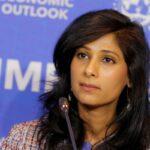 Gita Gopinath, economista jefe del FMI