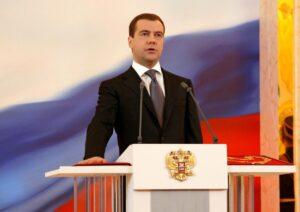 El vicepresidente del Consejo de Seguridad de Rusia, Dimitri Medvedev
