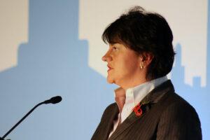 La ministra principal de Irlanda del Norte, Arlene Foster