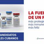 """El máximo responsable del candidato vacunal cubano Soberana Plus asegura su """"excelente"""" perfil"""