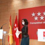 """Ayuso defiende que en Madrid los ciudadanos pueden hacer lo que les dé """"la gana"""""""