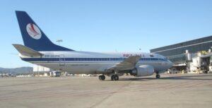 Imagen de archivo de un avión de Belavia Belarusian Airlines - AENA