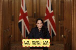 La ministra del Interior de Reino Unido, Priti Patel. - Matt Dunham/PA Wire/dpa