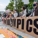 Protesta contra los Juegos Olímpicos en Tokio - Damon Coulter/SOPA Images via ZU / DPA