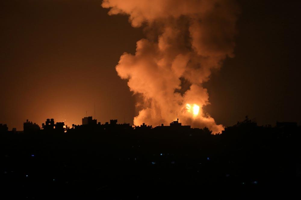 Bombardeos de Israel contra la Franja de Gaza - Mahmoud Khattab/Quds Net News vi / DPA