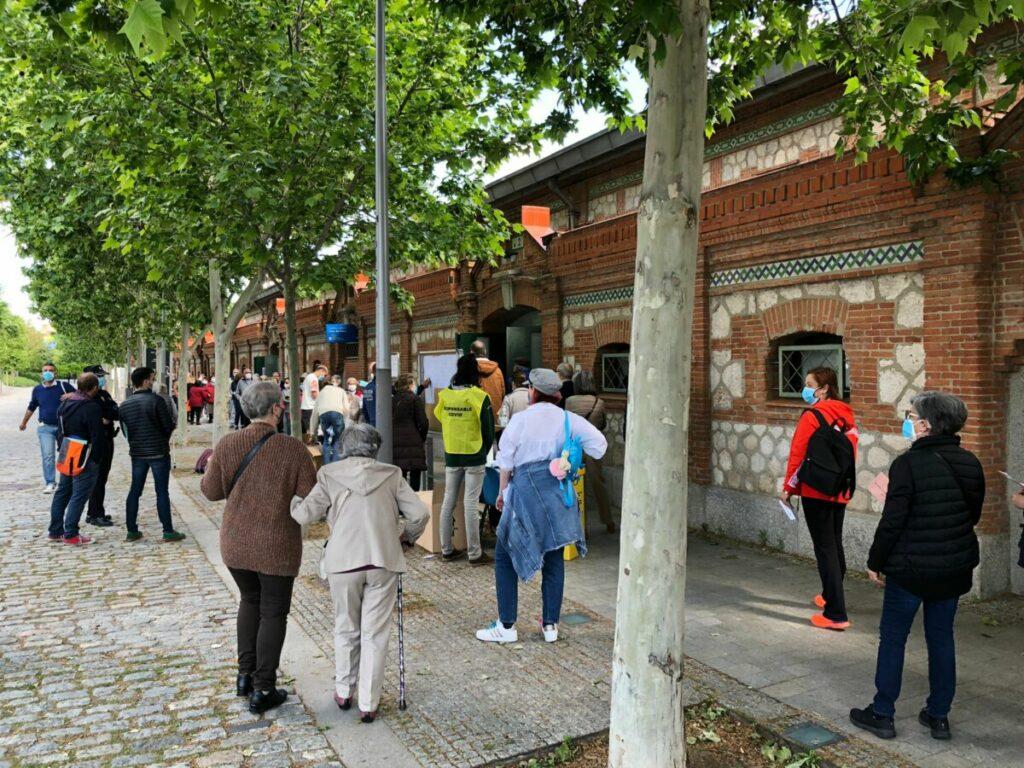 Elecciones 4M en Madrid Río