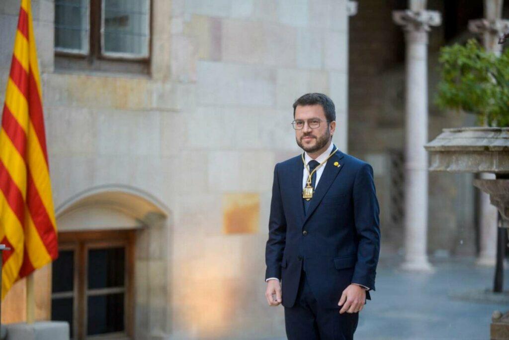"""Aragonès exige la puesta en libertad de Puigdemont porque es un """"clamor"""" en Cataluña"""