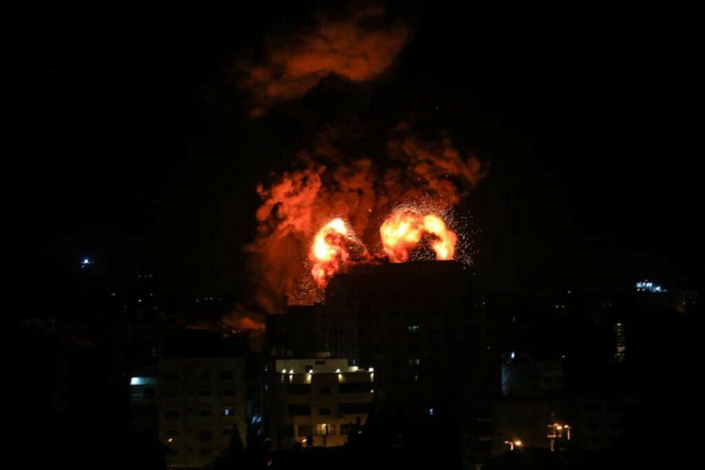 Bombardeo de Israel contra la Franja de Gaza - Mahmoud Khattab/Quds Net News vi / DPA