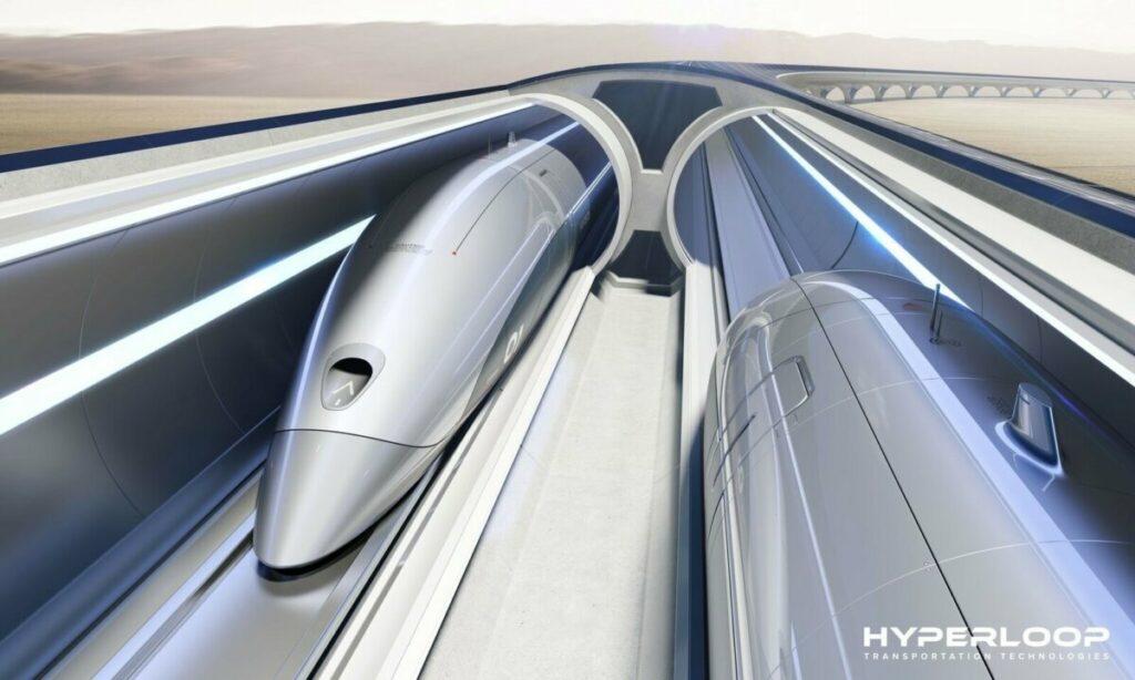 Archivo - Sistema Hyperloop de HTT - HTT - Archivo