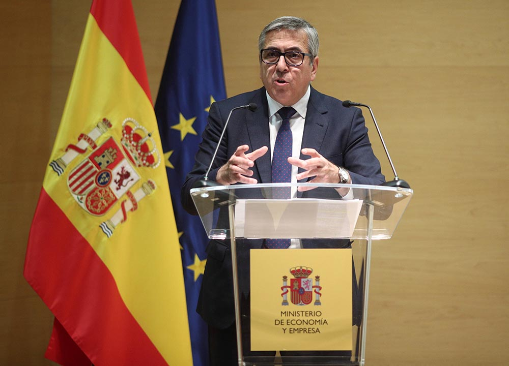 El presidente del Instituto de Crédito Oficial, José Carlos García de Quevedo - Foto: Eduardo Parra - Europa Press