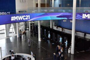 Vista general de la Fira de Barcelona, con los preparativos para la celebración del Mobile World Congress (MWC) 2021, a 20 de mayo de 2021, en Barcelona, Catalunya (España). - David Oller - Europa Press - Archivo