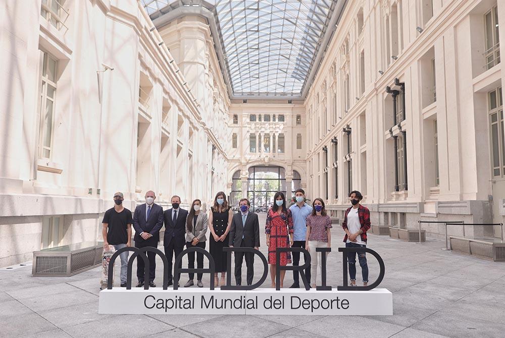 Presentación de Madrid como Capital Mundial del Deporte en 2022 - EDUARDO PARRA