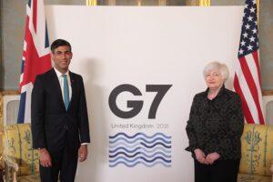 Reunión del G7 - Foto: Hannah Mckay/PA Wire/dpa