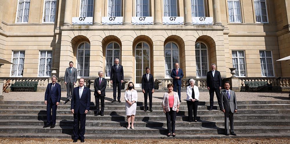 Los ministros de Finanzas del G7 en Londres - Henry Nicholls/PA Wire/dpa