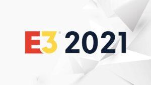 Logotipo del E3 2021 de videojuegos de Los Ángeles. - E3