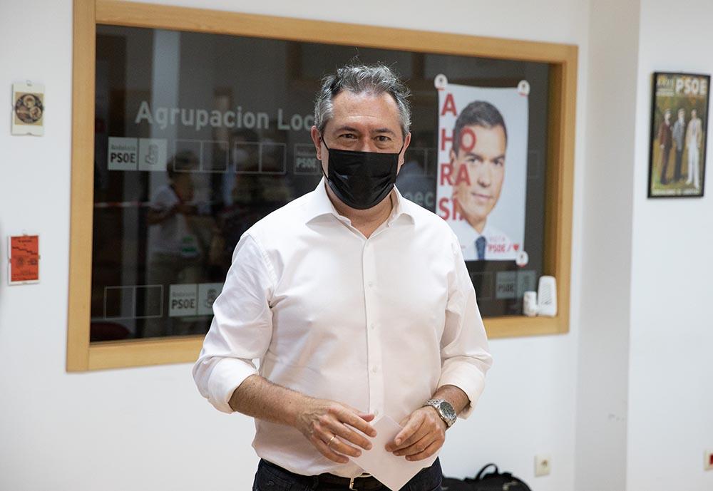 El alcalde de Sevilla, Juan Espadas
